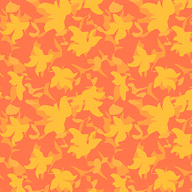4568 Vegetal Pattern