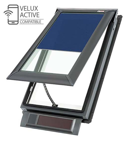 Velux Solar Fresh Air Skylights.