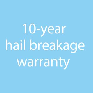 10 year hail warranty