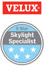 Velux 5 star skylight specialists