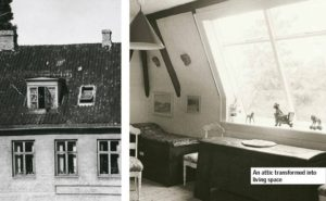 Early Transformed Velux Attic