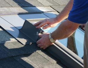 skylight installation finishing