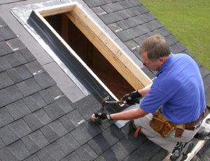 skylight installation rough in
