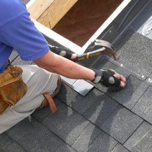 skylight nailing roof