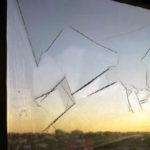 film peeling from window