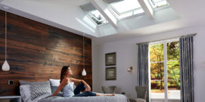 Velux blinds header