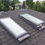 Solar Venting Skylight Installation