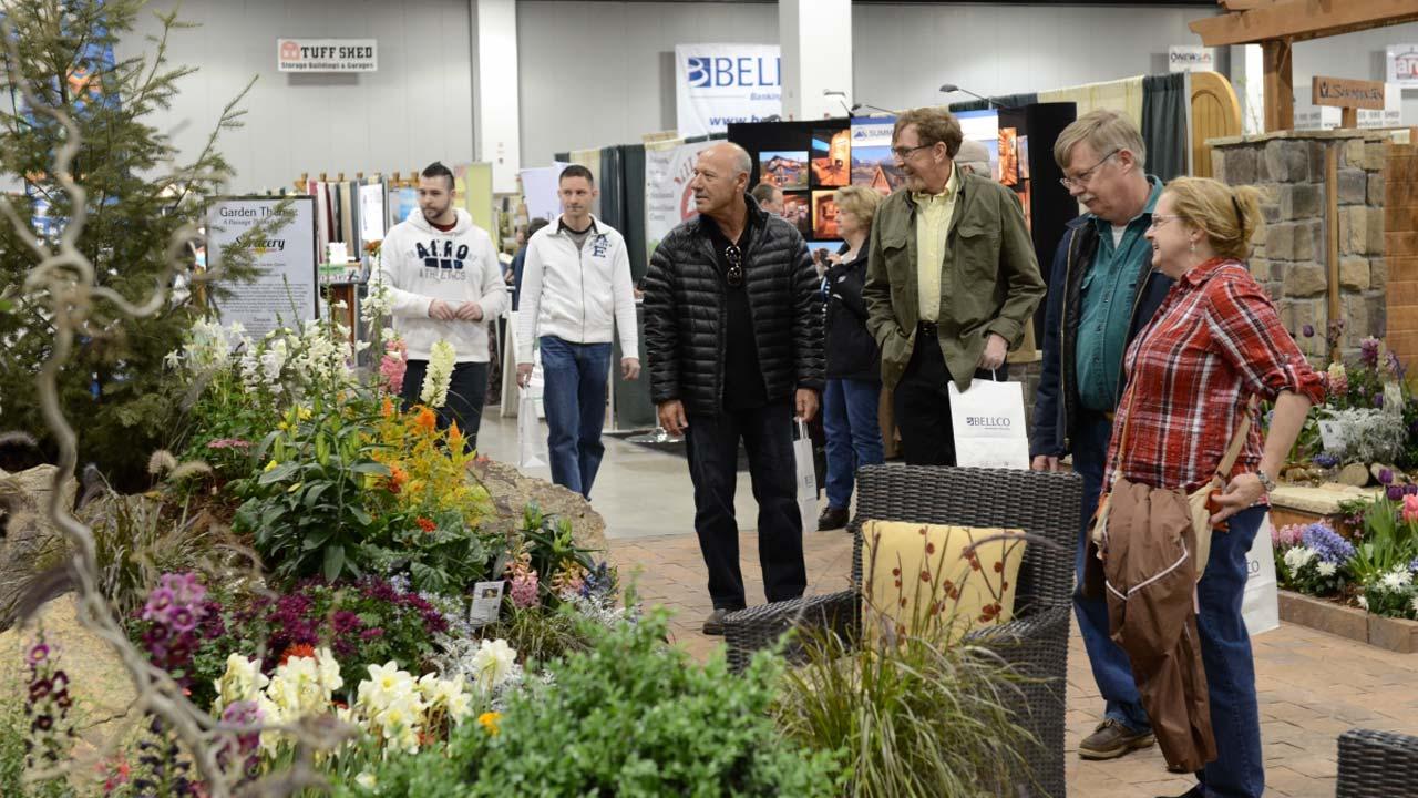 Colorado Garden & Home Show Flower Gathering