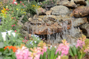 Colorado Garden & Home Show Fountain
