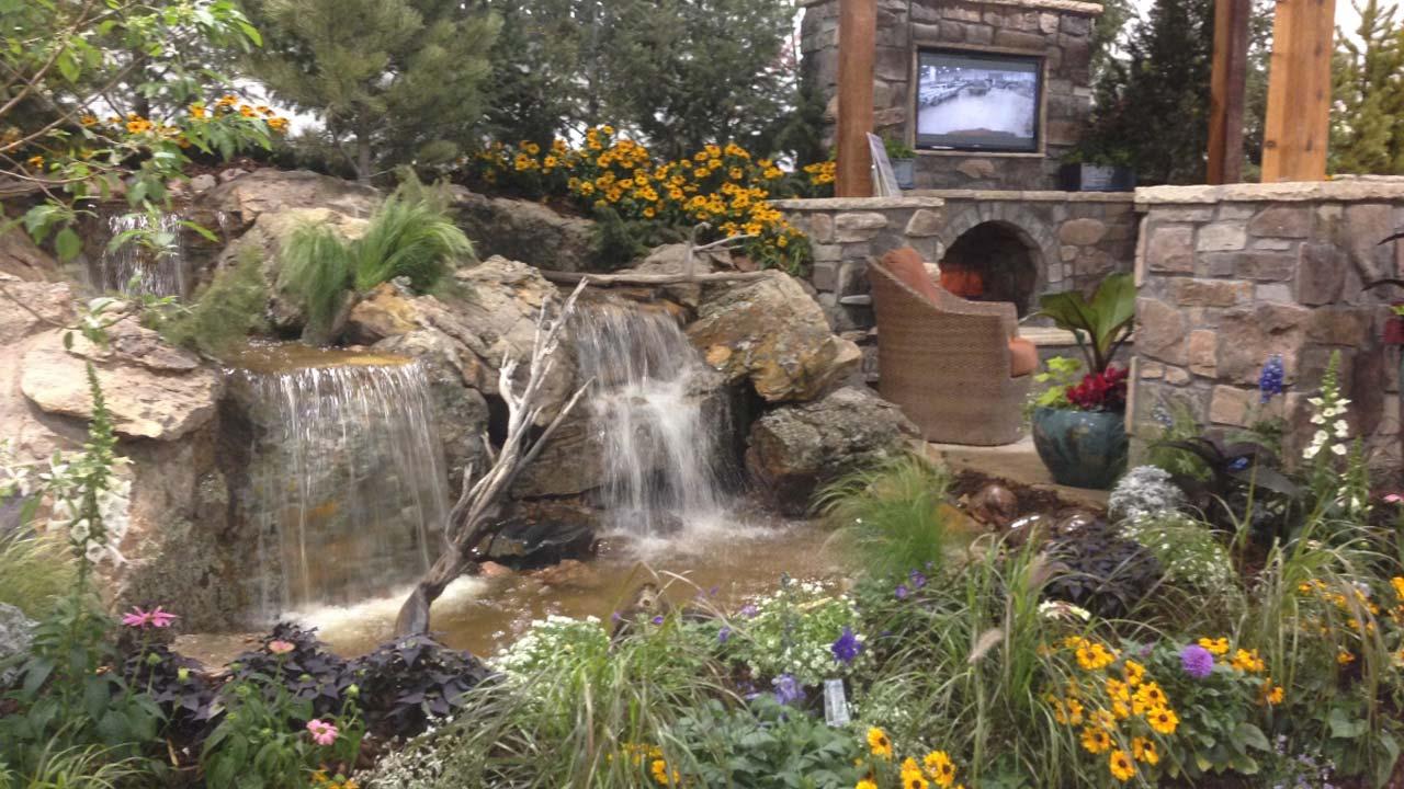 Colorado Garden & Home Show Fountain Garden