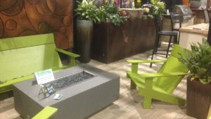 Colorado Garden & Home Show Deck Fire Pit