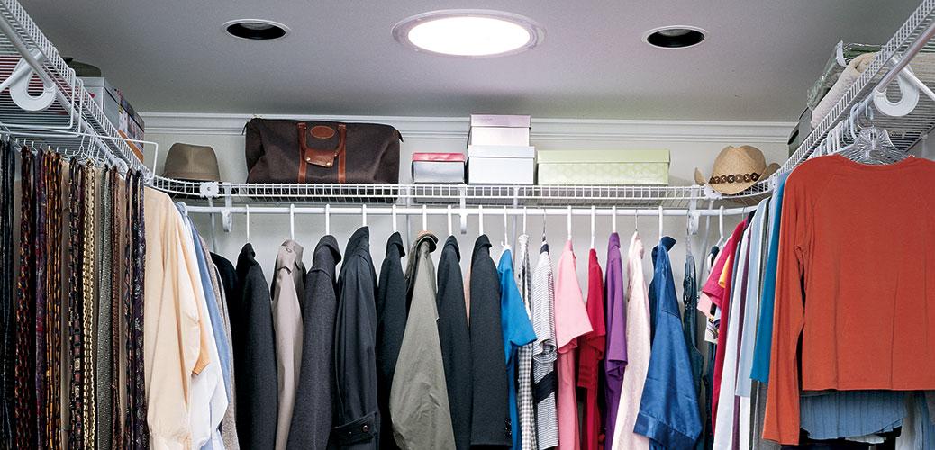 True Colors in Closets