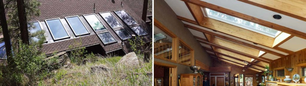 Mountain Skylight Repair | Evergreen