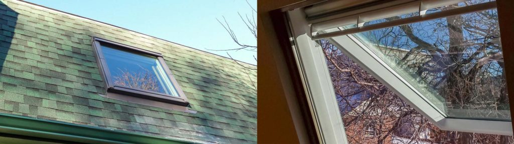 VELUX GPU Roof Window Replacement
