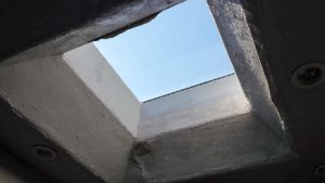 odd curb mounted skylight 21657-4
