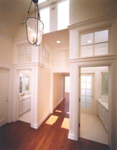 Skylight in a Hallway