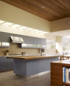 Skylight in a Kitchen