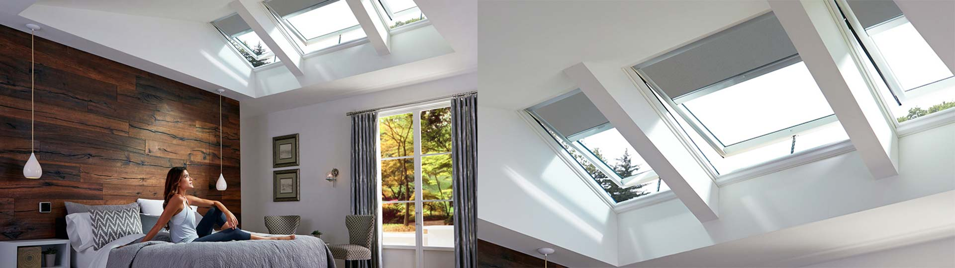 skylight blinds header