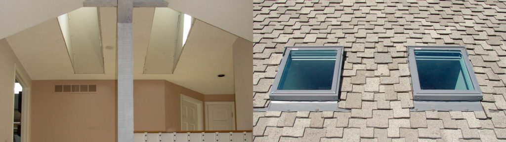Skylight Shaft | A pair of skylights