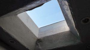 odd curb mounted skylight 21657-4