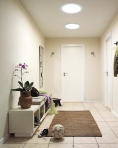 sun tunnel entryway after