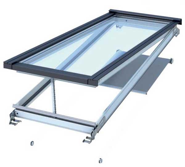Velux modular skylight venting module