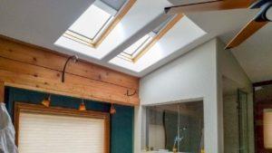skylight blinds shaft 25347-095401-3