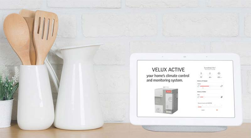 Velux Active on tablet