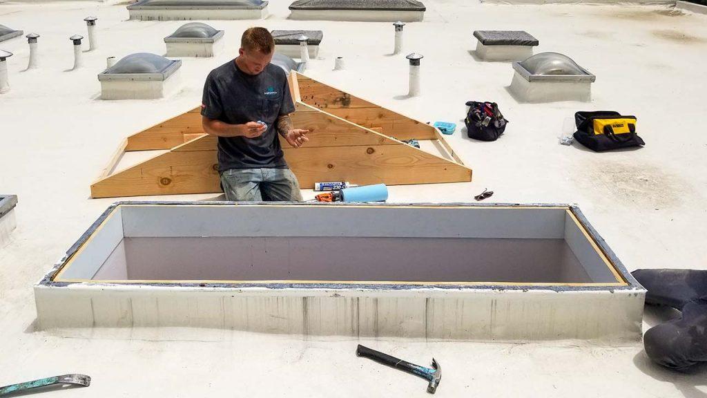Velux smart home curb preparation 27659-125043