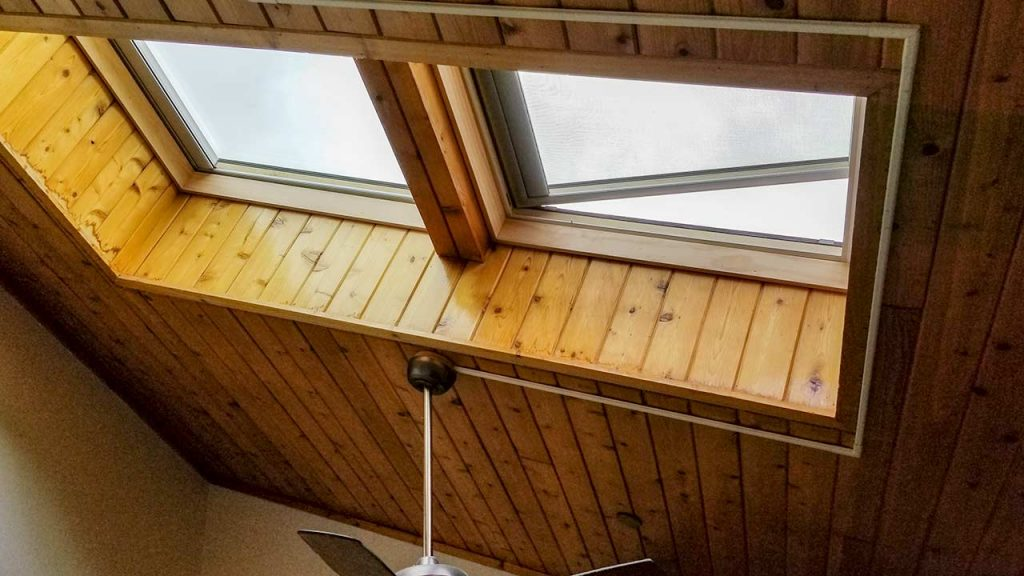 Borders Lodge skylight replacement 26920-112337
