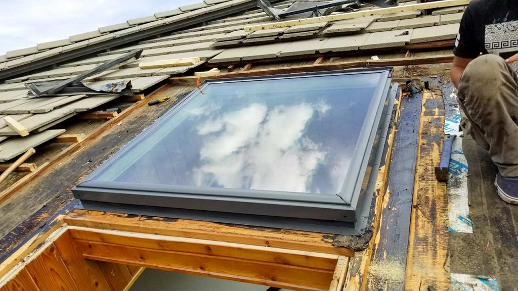 Borders Lodge skylight replacement 26920-122449