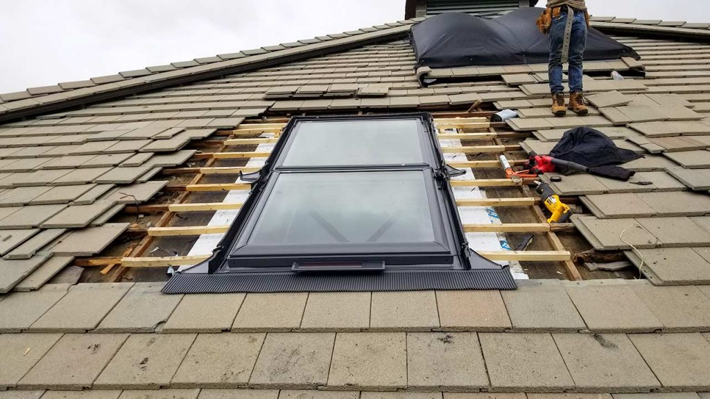 Borders Lodge skylight replacement 26920-145733
