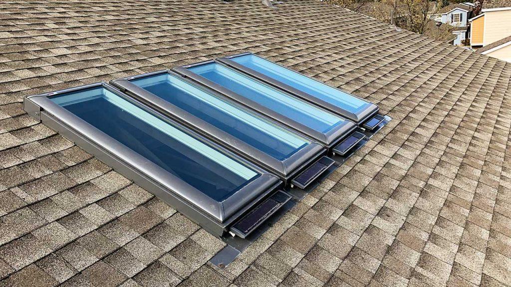 new install Velux VSS skylights