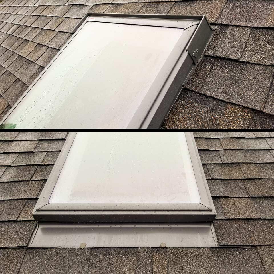 Velux deck mount skylight 29731-comp-finished