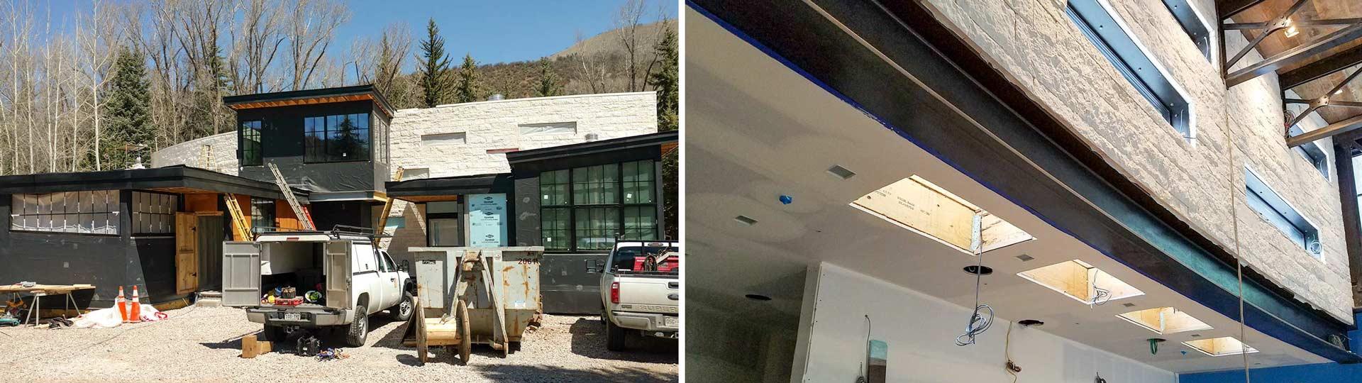new skylights Aspen home 24205