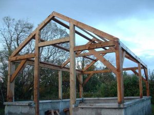 post and beam structure