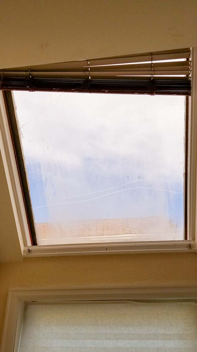 Velux deck mount skylight 6497-091332