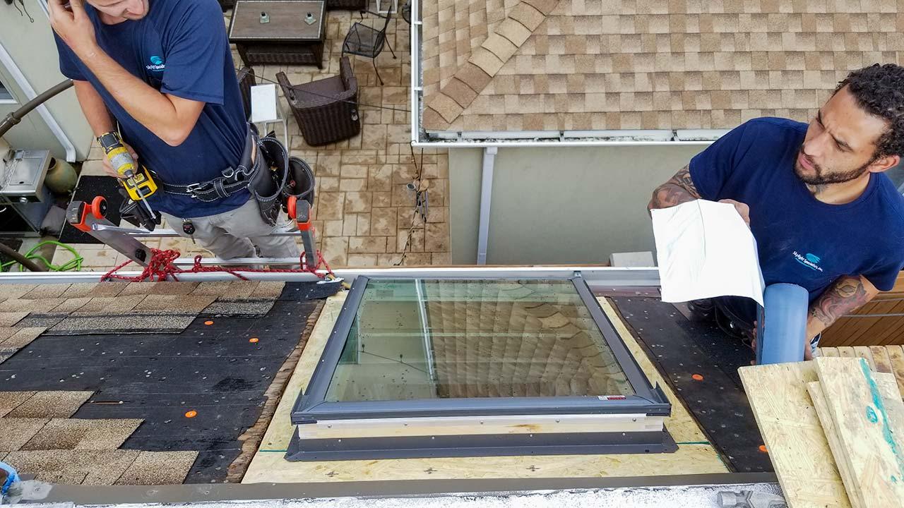 Velux deck mount skylight-6497-133749