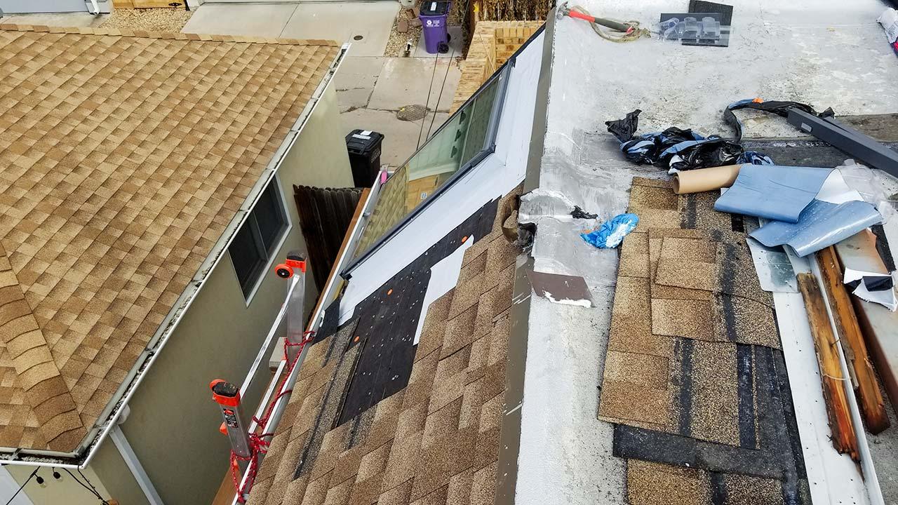 Velux deck mount skylight 6497-153558