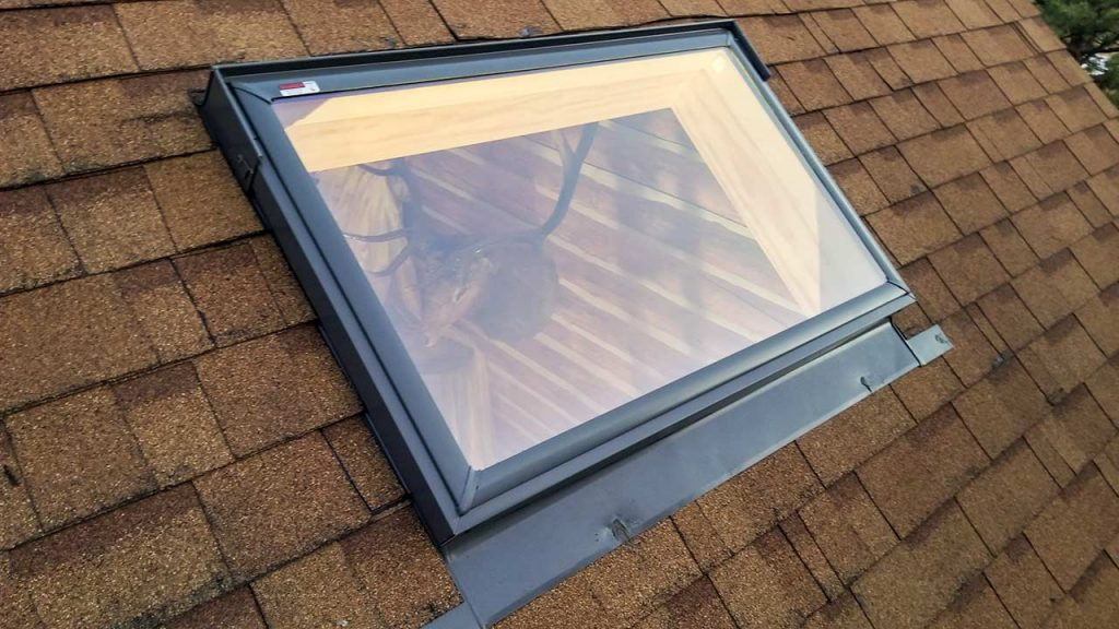 install skylights log cabin 29749-171139