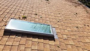 new install Velux FS skylight 29503-144502