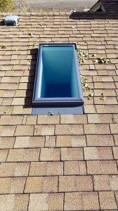 new install Velux FS skylight 29503-144526