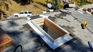 new installation Velux FCM skylight 26700-124957