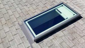 new installation Velux FCM skylight 26700-143633