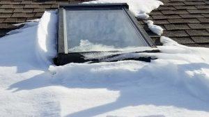 skylights on snowy roof 30105-101523