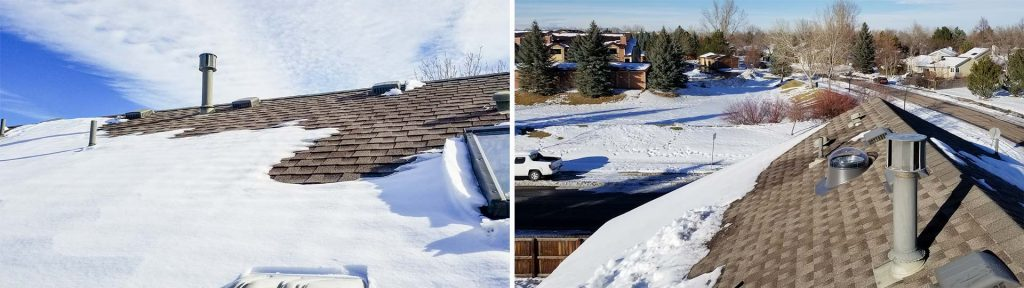 Installing Skylights on a Snowy Roof