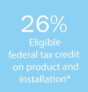 26% tax credit