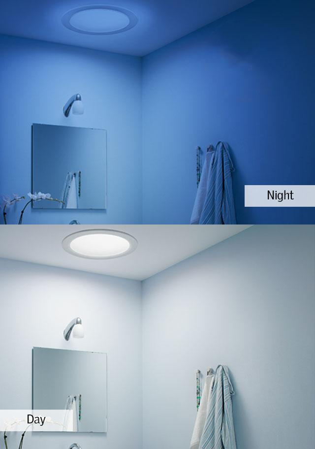 night light - night and day