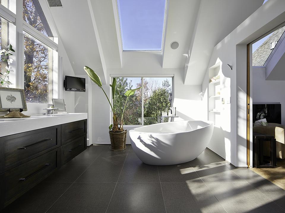bathroom daylight