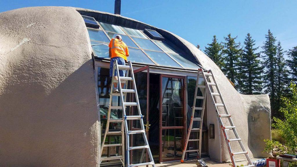 dome home skylight retrofit 14522-1